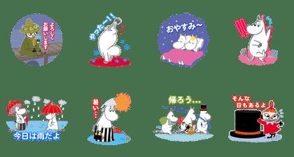 ムーミン × LINE ポコポコ