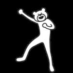 【無料スタンプ】選べるニュース×けたたましく動くクマ|配布期間は2019年7月31日(水)まで