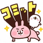 【無料スタンプ】カナヘイのピスケ&うさぎ×ライザップ 2|配布期間は2019年8月5日(月)まで