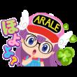 アラレちゃん × LINE ポコポコ