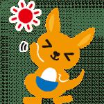 【無料スタンプ】かんぽくん|配布期間は2019年9月9日(月)まで