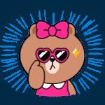 【無料スタンプ】ナイスアクション!LINEキャラクターズ|配布期間は2019年8月22日(月)まで