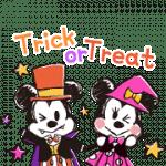 【限定スタンプ】ミッキー&フレンズ(らくがきハロウィン)