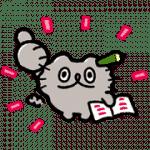 【無料スタンプ】LINE家計簿 × ねこのぶーちゃん|配布期間は2020年12月18日(水)まで
