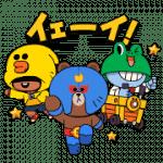 【無料スタンプ】ブロスタ×LINE FRIENDS|配布期間は2020年1月1日(水)まで