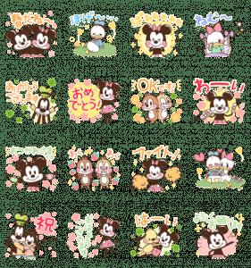 ミッキー&フレンズ(らくがきスプリング)