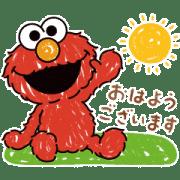 【無料スタンプ】森永ビスケット×セサミストリート|配布期間は2021年7月1日(木)まで