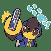 【無料スタンプ】エボルタNEOくんLINEスタンプ|配布期間は2021年3月29日(月)まで