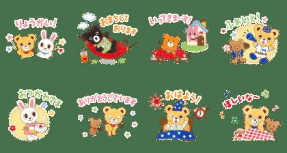 [50周年記念]ミキハウスキャラクターズ