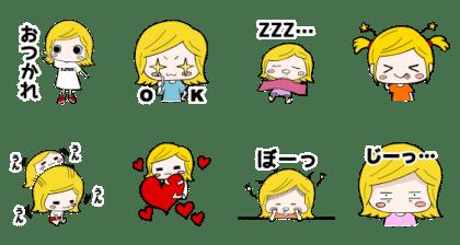 アニメ第2話公開記念!イーマリースタンプ
