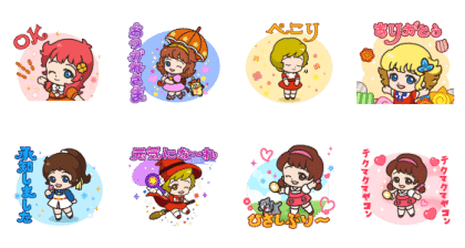 POP2 × 魔女っ子コレクション